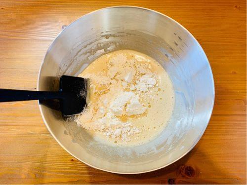バターなし ヨーグルトマフィンの作り方3