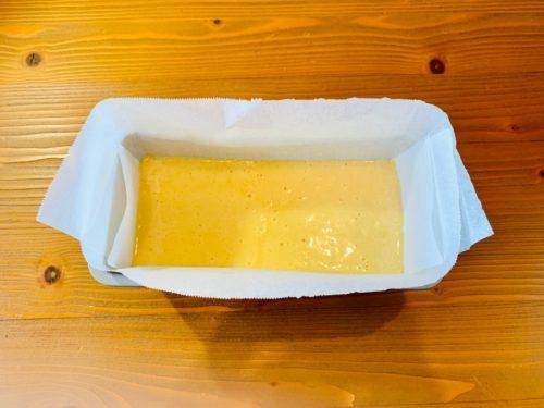 プレーンパウンドケーキの作り方5
