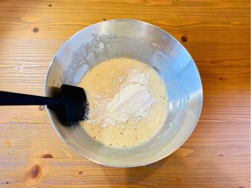 プレーンパウンドケーキの作り方3