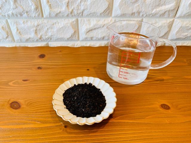 水出し紅茶の分量