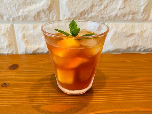 水出し紅茶 アイスティー アレンジレシピ マンゴーアイスティー