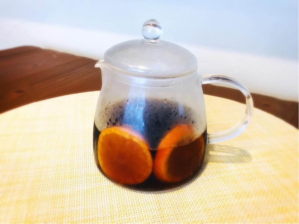 水出し珈琲のアレンジ