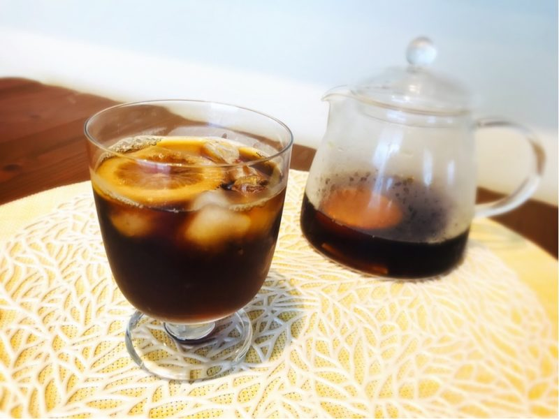 アイスコーヒー アレンジレシピ フルーツ・コールドブリュー