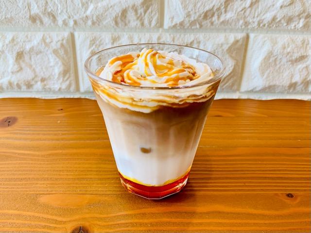 アイスコーヒーアレンジレシピ キャラメルオレ