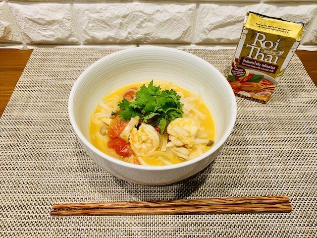カルディ ロイタイ トムヤムスープ アレンジ麺