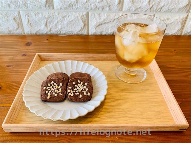 ポリ袋1枚で作れる【ココアクッキー】バター・卵なし