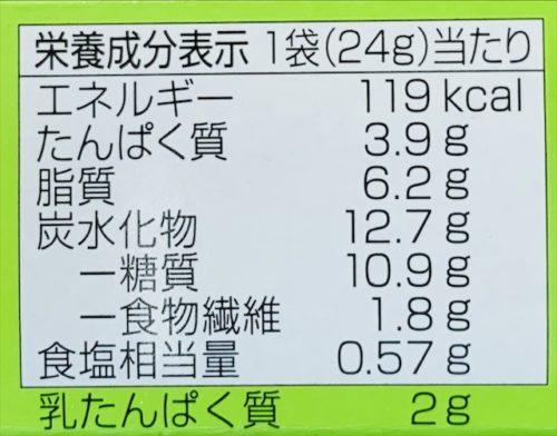 明治 タンパクト チーズビスケット カロリー