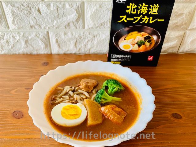 カルディ購入品 もへじ 北海道スープカレー