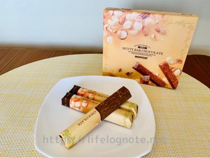 ロイズナッティバーチョコレート