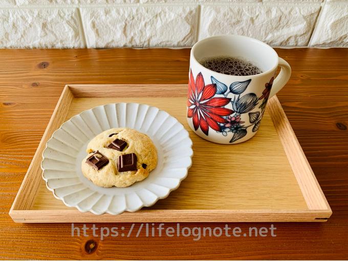 ホットケーキミックス使用 チョコチャンククッキー 簡単レシピ