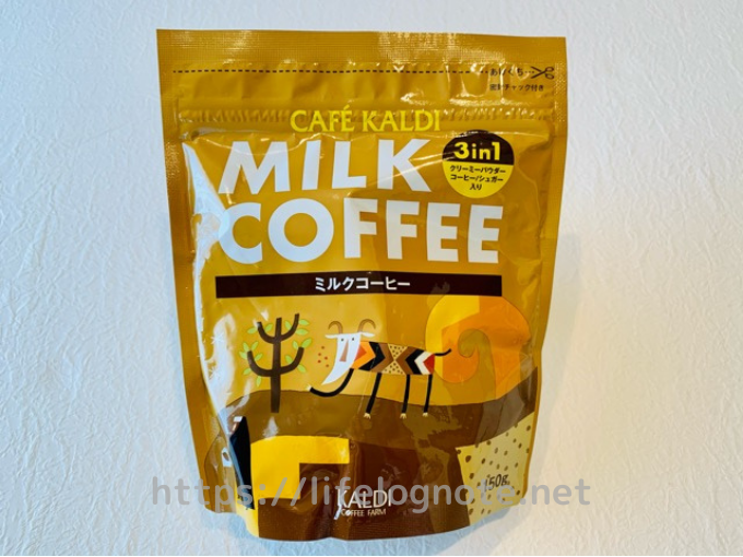 カルディ ミルクコーヒー 3in1粉末
