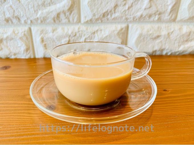 伊藤園 ヘルシールイボスティー ティーバッグ アレンジレシピ ミルクティー