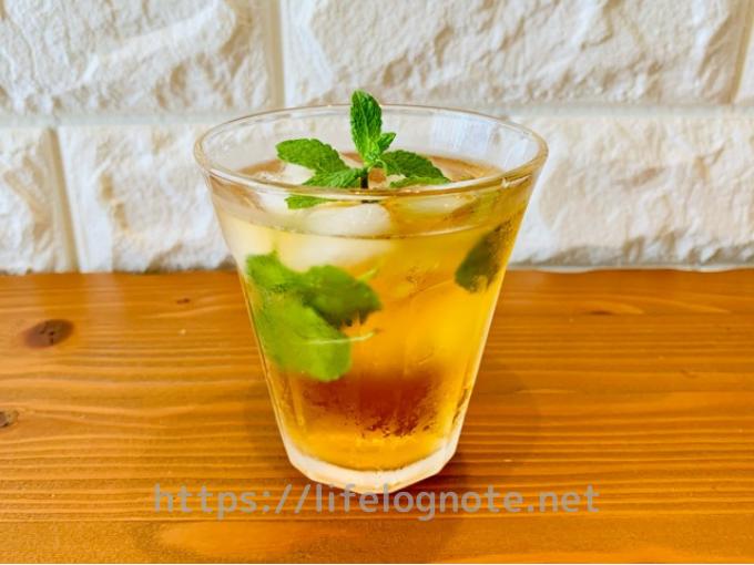 カルディ 水出しティーバッグ ルイボス&レモングラス アレンジレシピ