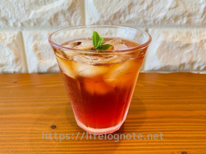 ミツカン フルーティス ピンクグレープフルーツ アレンジレシピ 紅茶割り