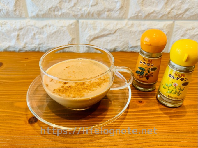 ホットコーヒー アレンジレシピ チャイ風スパイスコーヒー