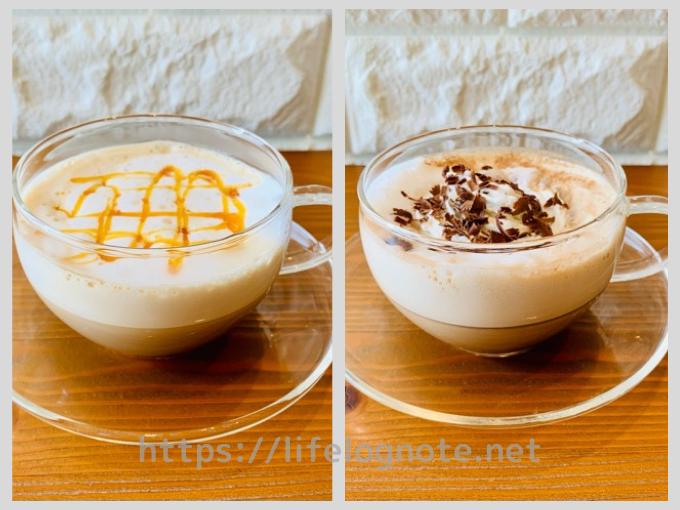 ホットコーヒー アレンジレシピ