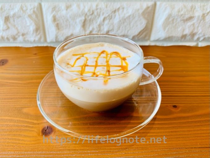 ホットコーヒー アレンジレシピ キャラメルマキアート風 キャラメルオレ