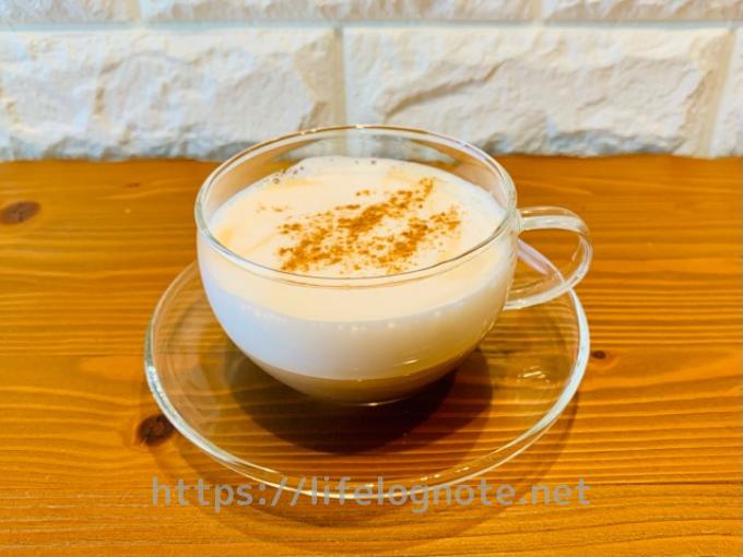 ホットコーヒー アレンジレシピ カプチーノ