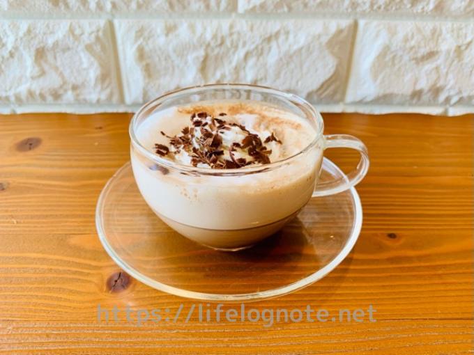ホットコーヒー アレンジレシピ カフェモカ