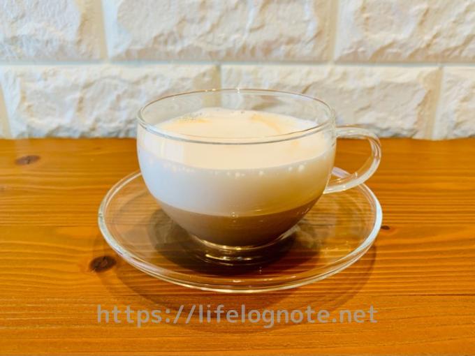 ホットコーヒー アレンジレシピ カフェオレ