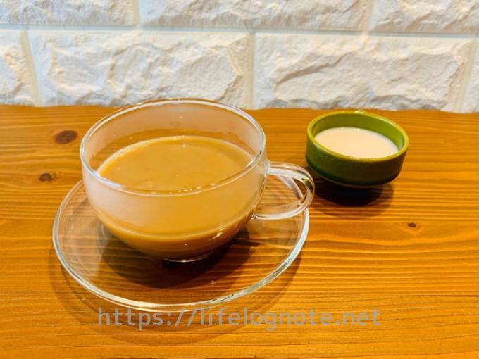ホットコーヒー アレンジレシピ アーモンドミルク