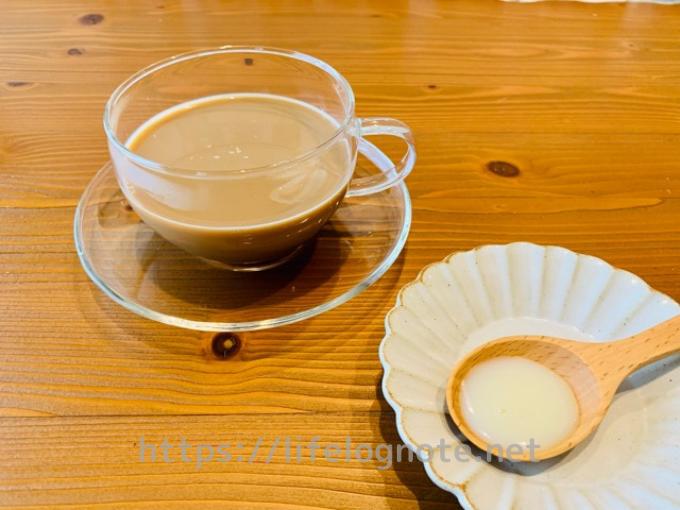 ホットコーヒー アレンジレシピ ベトナム風コーヒー