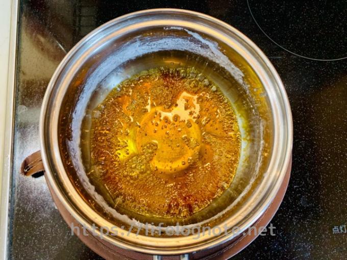 キャラメルソースの作り方 レシピ