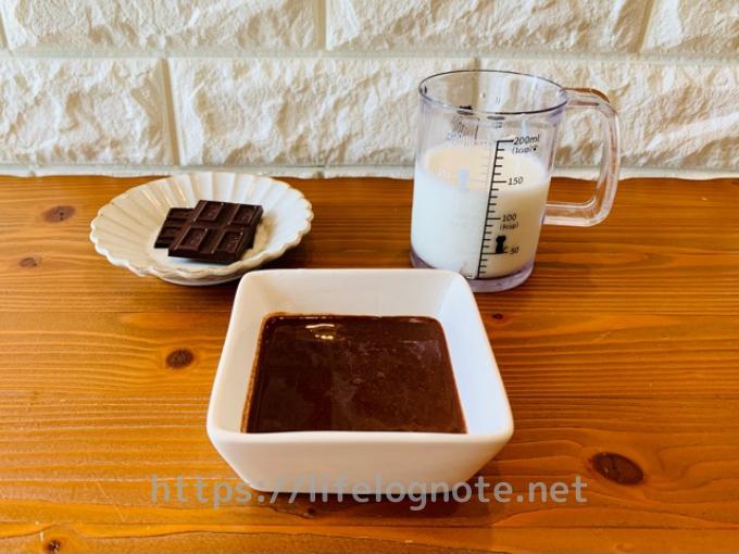 チョコレートシロップの作り方