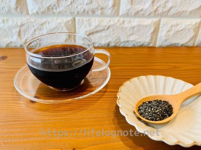 コーヒーダイエット アレンジレシピ 黒ゴマ