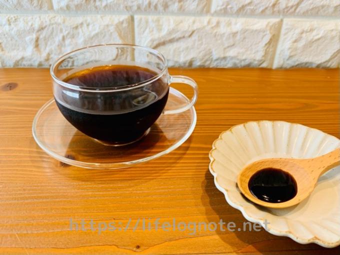 コーヒーダイエット アレンジレシピ 黒みつ