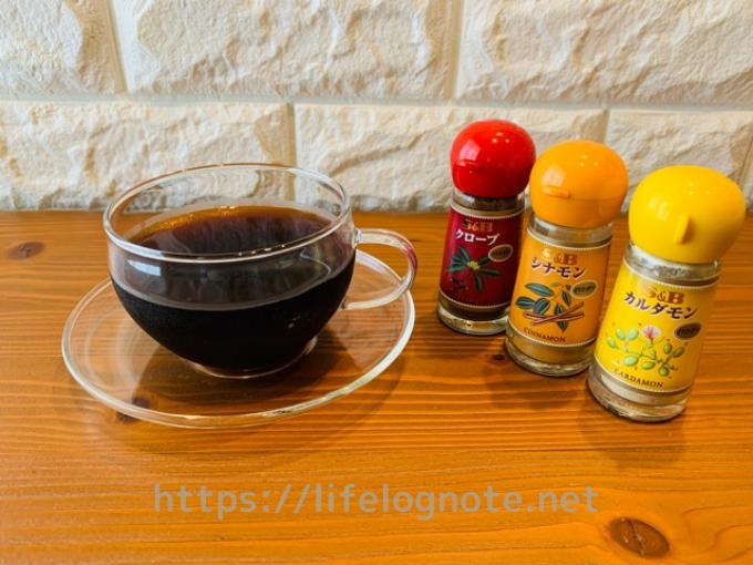 コーヒーダイエット アレンジレシピ スパイス