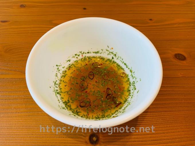 日清MCTオイルを使ったアレンジレシピ ペペロンチーノ